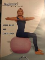 BalanceBall Fitness with Suzanne Deason Beginner's Workout [VHS] NEW AND SEALED