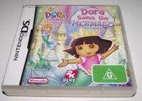 Dora Saves the Mermaids Nintendo DS 3DS Game *No Manual*