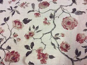 Linen Rose, Russet Fabric 2 Pieces 2.3 M & 2 M Retails £40 Pm