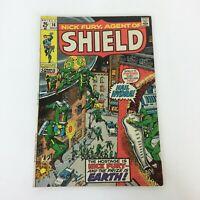 Nick Fury Agent of Shield Marvel Comic Book No 15 November 1970 Bronze Age
