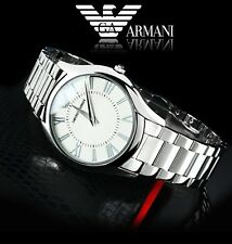 EMPORIO ARMANI LADIES LUXURY ULTRA SLIM CLASSIC WATCH AR2056