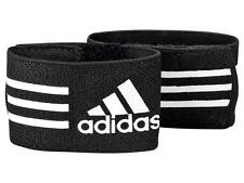 FW13 ADIDAS ANKLE STRAP GUARD STAY BLACK ELASTIC FOR SHIN GUARDS 620635