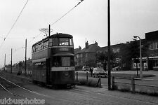 Leeds Corporation Tramcar 528 Cross Gates Terminus Tram Photo