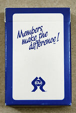 Vintage Credit Union Members Make the Difference Playing Cards 1