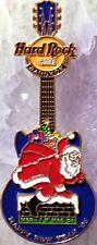 Hard Rock Cafe BANGKOK CHRISTMAS 2004 NEW YEARS 2005 Santa Guitar PIN HRC #26031