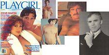 PLAYGIRL 7-80 JULY 1980 STEVE MARTIN HAIRY RON KOLEGA RON JEREMY Great Issue
