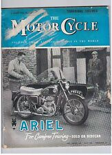 Motor Cycle Weekly August Magazines