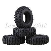 "4PCS 1.9"" ID-52mm Rubber Tires OD-106mm for RC 1:10 Rock Crawler Climbing Car"