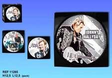 "Johnny Hallyday  réveil carré réf. 11285 modèle ""moto"""