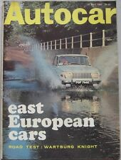 Autocar magazine 13 July 1967 featuring Land Rover, Wartburg Knight road test
