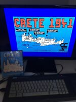 Amstrad CPC 6128 game - Crete 1941 - Disk - complete - tested