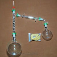 1000ml,24/40,Glass Vacuum Distillation Apparatus,W/Vigreux Distillation Head