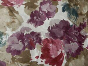 Sainsbury's Multi Floral 100% Cotton Double Duvet Cover & 2 Pillowcases
