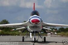 FREEWING 1522mm F-16C THUNDERBIRD 90mm Metal HOUSING 12 Blades EDF Unit PNP NIB