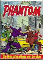 Phantom Nr.39 - TOP Z1 BASTEI KRIMI COMIC-HEFT Lee Falk