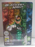2009 SDCC BLACKEST NIGHT GREEN LANTERN HAL JORDAN FIGURE comic-con only release
