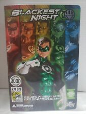 2009 SDCC BLACKEST NIGHT GREEN LANTERN HAL JORDAN FIGURE comic-con only release