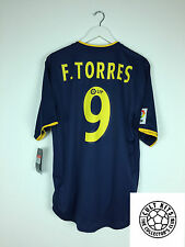 Atletico MADRID Torres # 9 02/03 * BNWT * Away Football Shirt (L) SOCCER JERSEY
