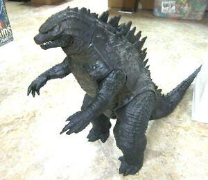 Jakk's Humongous 30 inch long Godzilla dinosaur Kaiju monster figurine --2014