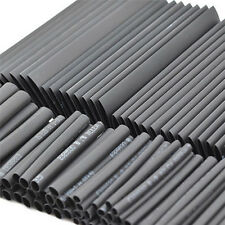 127Pcs Black Glue résistant aux intempéries thermorétractable tubes gaine 6K