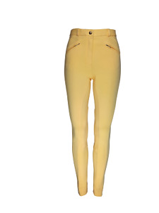 Cameo Equine Ladies Canary Jodhpurs. Classic, traditional styling for show ring.