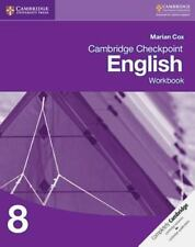 Cambridge Checkpoint English Workbook 8 by Marian Cox (2013, Paperback)