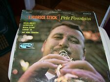 PETE FOUNTAIN LICORICE STICK-LP-VG+-CORAL STEREO-1964-CLARINET-CHARLES BUD DANT