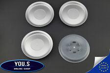 4 Nabenkappen Nabendeckel ohne Logo - Außen 155,0 Innen 57,5 mm für VW - NEU