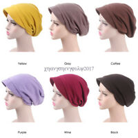 Women Muslim Caps Islamic Underscarf Hats Arab Turban Chemo Wrap Head Hijab Cap