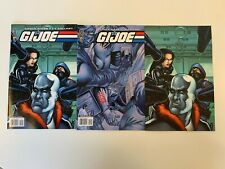 IDW G.I. JOE #12 : ALL COVERS BUNDLE : NM CONDITION