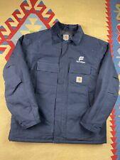 Vtg Carhartt Work Jacket Size XL Workwear Detroit