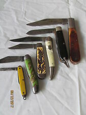 Dealers Lot of 6 Vintage Knives Sabre Hammer Camco Kent Imperial H/T or HIT