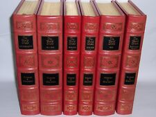 Easton Press THE WORLD CRISIS: The First World War 6 vols by Winston S Churchill