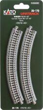 Curve N Scale Model Train Tracks