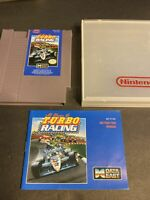 NES AL UNSER JR. TURBO RACING Game And Manual