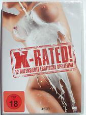 X-Rated - 12 unszensierte erotische Spielfilme - Erotik Sammlung, Madame O