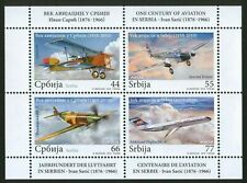Serbia 2010 ☀ Serbian aviation airplanes MSS MiNr. 381 - 384 ☀ MNH**