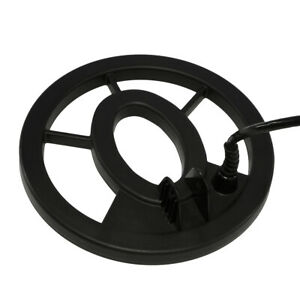 """Fisher 7"""" Black Round Metal Detector Search Coil 7COIL-RE-F"""