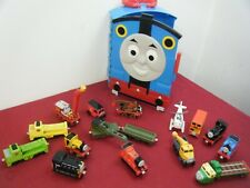 BUNDLE OF 15 THOMAS THE TANK TAKE ALONG/TAKE+PLAY METAL TRAINS INC ROCKY+CASE