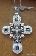 PLATA DE LEY 282m COLGANTE DE CRUZ Consecrated to the Relics of St George 4