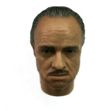 The Godfather Vito Corleone Head Sculpt Marlon Brando for 12'' Action Figure