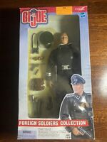 Hasbro GI Joe German Panzer Tank Sergeant Major WWII Foreign Soldier Collection