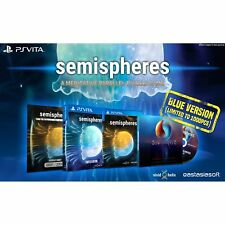 Semisphere BLUE cover- (1000 copies ww) - PSVITA - NEW