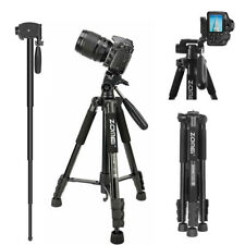 ZOMEI Q222 Pro Lightweight Tripod Monopod Portable Travel tripod for Camera DSLR