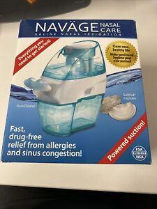 Navage Saline Nasal Care With 20 SaltPod Capsules, Fast Drug Free