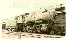 8C447 RP 1930s/40s ALGOMA CENTRAL & HUDSON BAY RAILROAD 4-6-0? LOCO #37