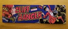 Cliff Hanger marquee sticker. 3.5 x 10.75. (Buy any 3 stickers, Get One Free!)