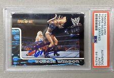 WWE Diva Torrie Wilson Signed 2002 Fleer Royal Rumble Card #52 With PSA/DNA Cert