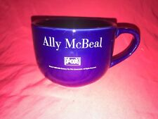 1998 FOX Ally McBeal Promotional Over sized Coffee Mug Calista Flockhart