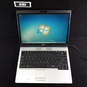 "LG E300 13.3"" LAPTOP CORE 2 DUO T7100 4GB 320GB WIN 7 PRO WEB CAM H783"